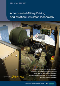 Advances in Military Driving and Aviation Simulator Technology